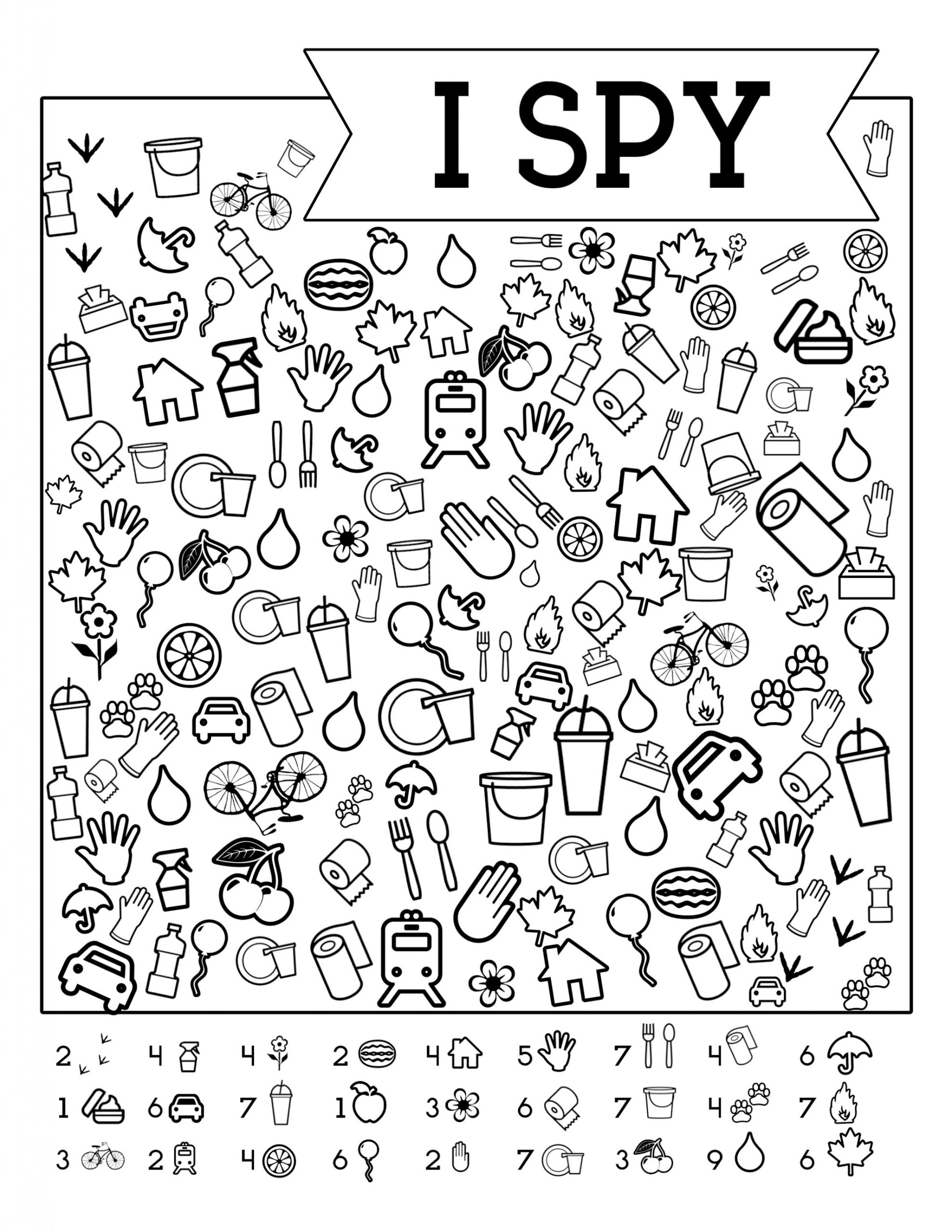Printable I Spy Worksheets Free Printable Road Trip Games for Kids I Spy