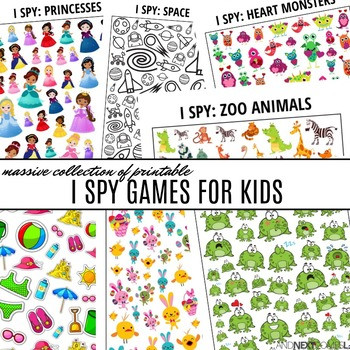 Printable I Spy Worksheets Massive Collection Of Printable I Spy Games