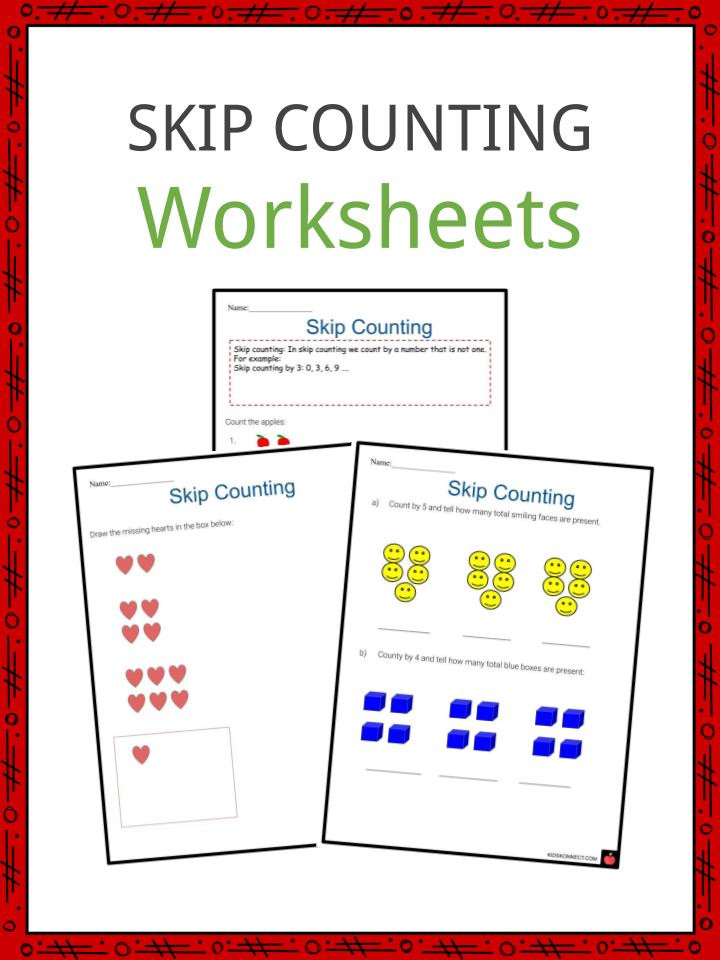 Printable Skip Counting Worksheets Skip Counting Worksheets