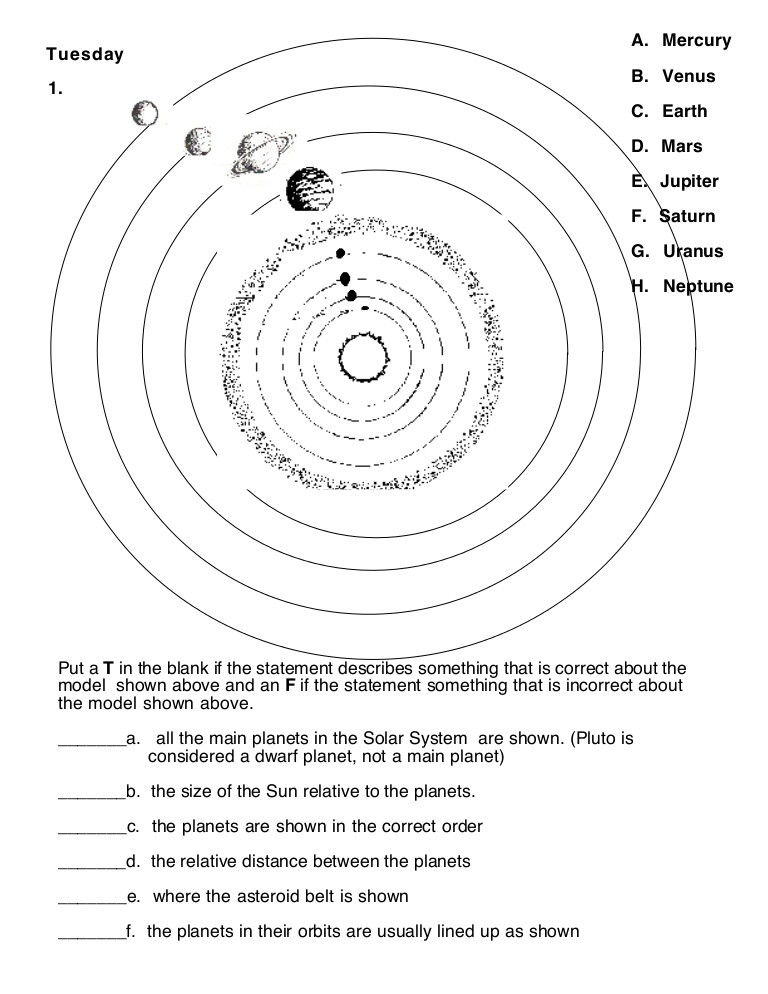 Printable solar System Worksheets solar System Learning Activities Worksheet