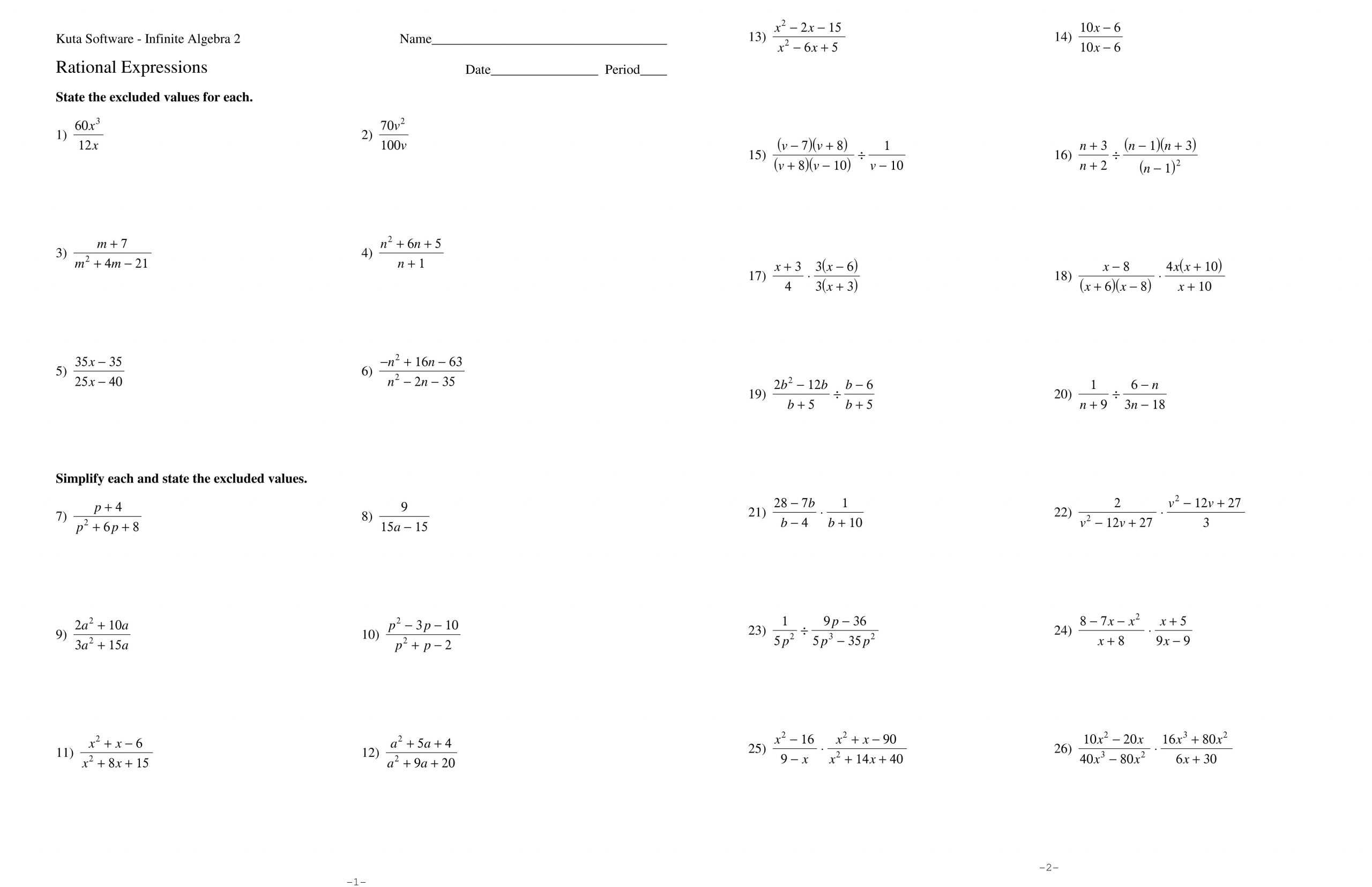 Rational Numbers Worksheet 7th Grade Adding and Subtracting Rational Numbers Worksheet Fractions