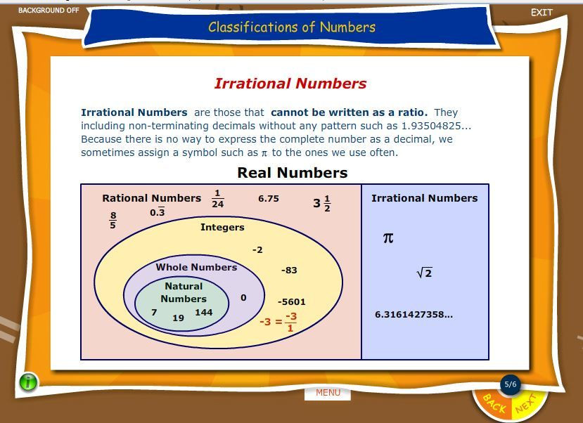 Real Numbers Chart Worksheet Example Of Real Numbers whole Numbers Natural Numbers