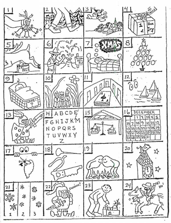 Rebus Puzzles Printable Worksheet Christmas Rebus Puzzles with Answers