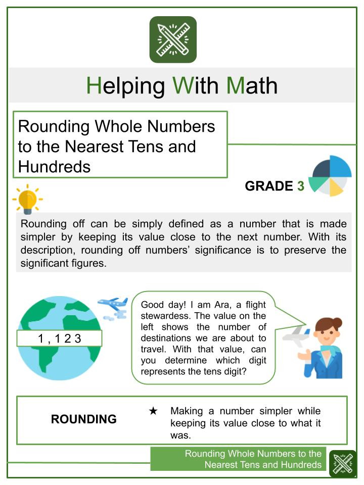 Rounding Numbers Worksheets 4th Grade Rounding Worksheets Generator with Numbers