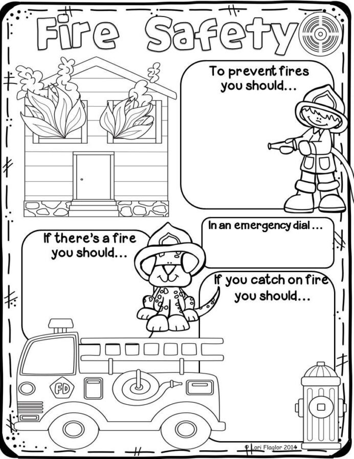 Safety Worksheets Printable Fire Safety Preschool Worksheets for Elementary Fun Math