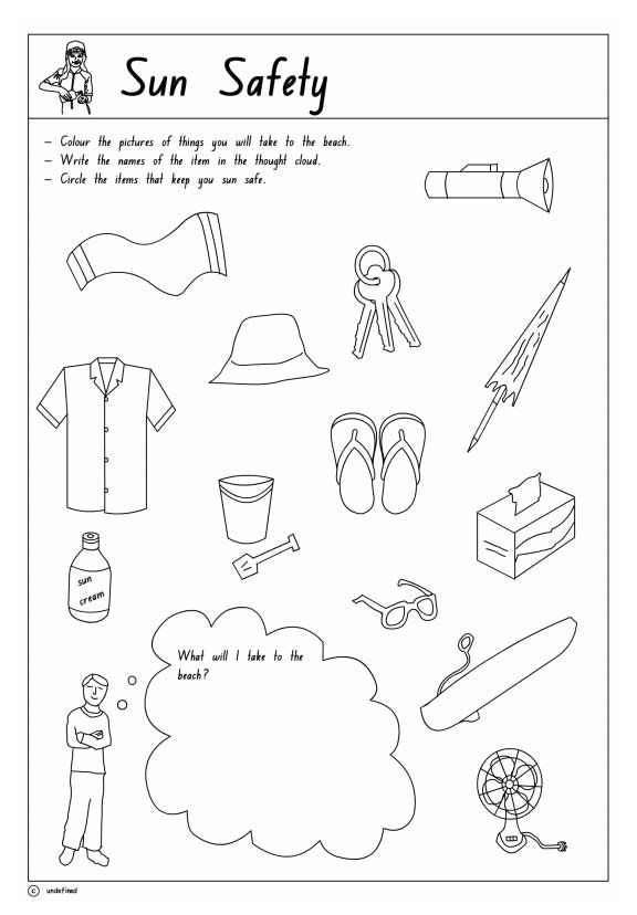 Safety Worksheets Printable Pin On Teacher Resources
