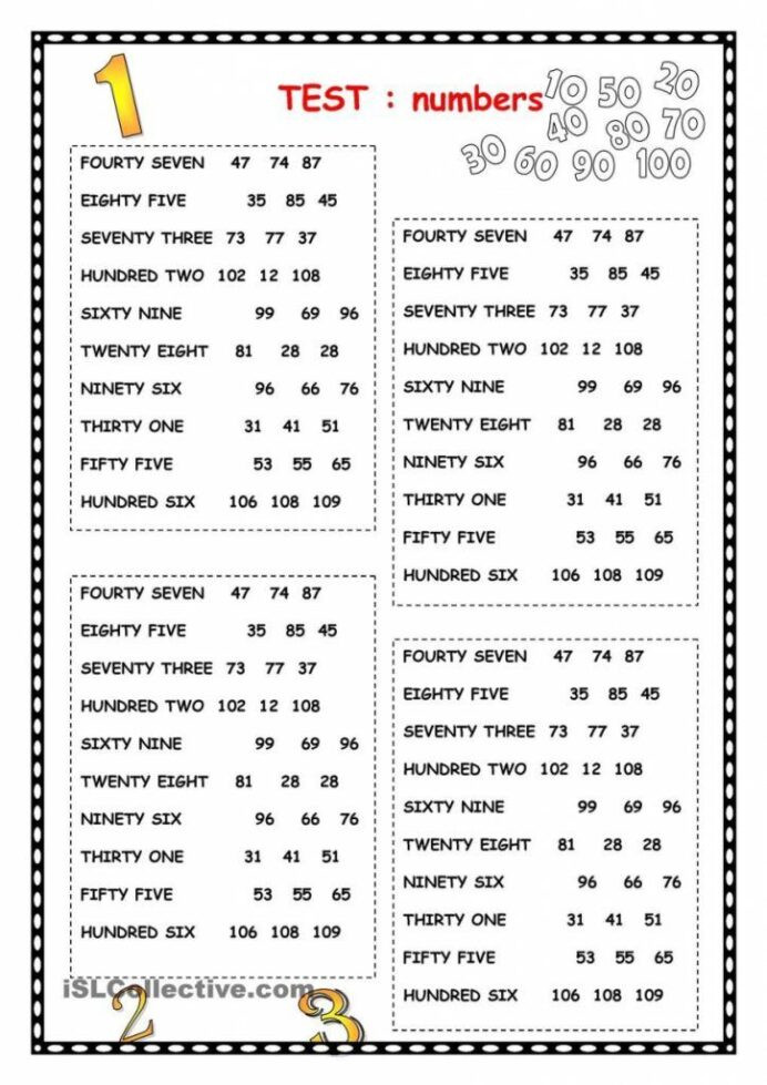 Spanish to English Worksheets Printables Worksheet Spanish Numbers Review to In English Worksheets