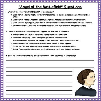 Summarizing Multiple Choice Worksheets Summarizing Nonfiction 8 Passages with Mc Questions Distance Learning