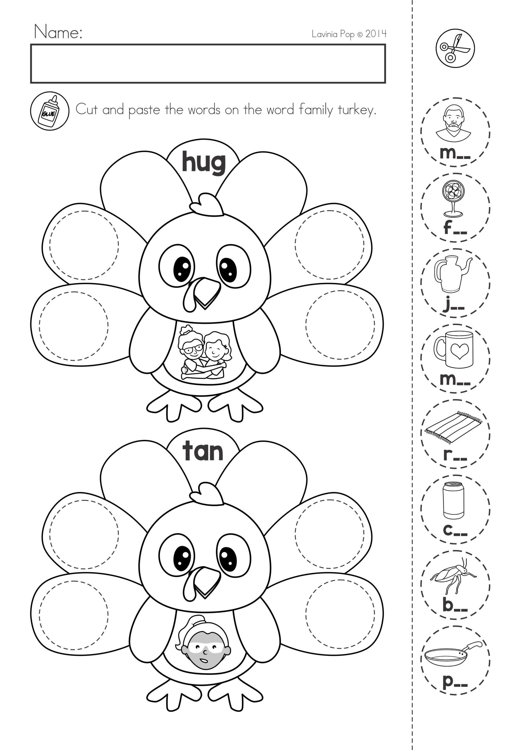 Teacher Websites Free Printable Worksheets Thanksgiving Math Literacy Worksheets and Activities Free