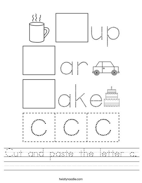 cut and paste the letter c worksheet png 468x609 q85
