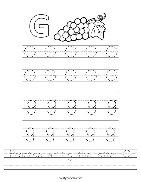 practice writing the letter g worksheet png 468x609 q85