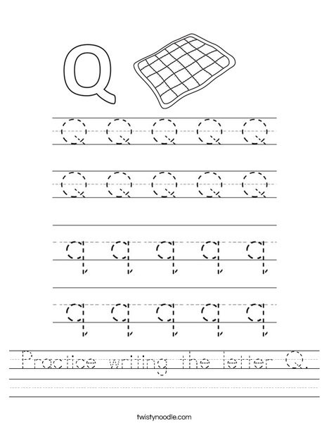 practice writing the letter q worksheet png 468x609 q85