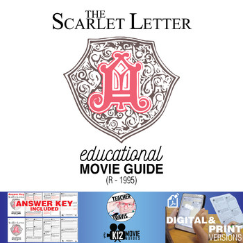 The Scarlet Letter Movie Guide Questions Worksheet R 1995