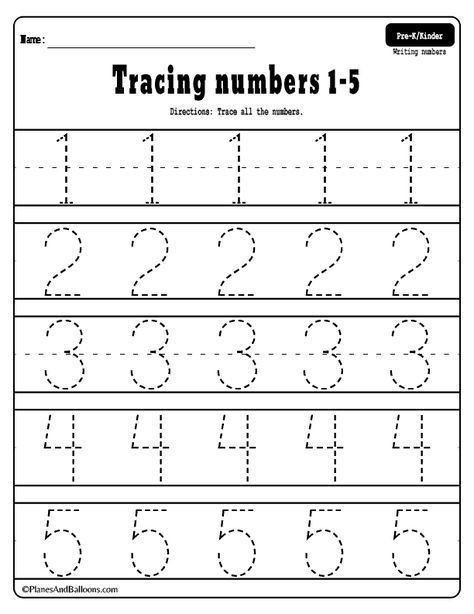 numbers 1 20 tracing worksheets tracing worksheets preschool 16