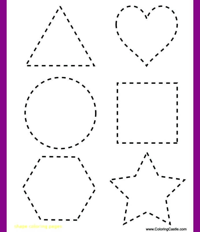 Tracing Shapes Printable Worksheets Shape Tracing Worksheets for Learning Free Analytic Geometry