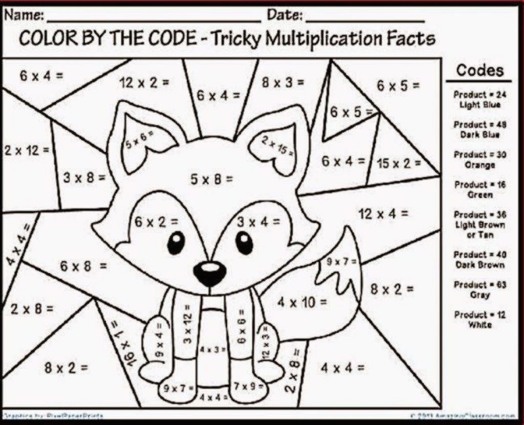 coloring 53 tremendous multiplication coloring worksheets free 24