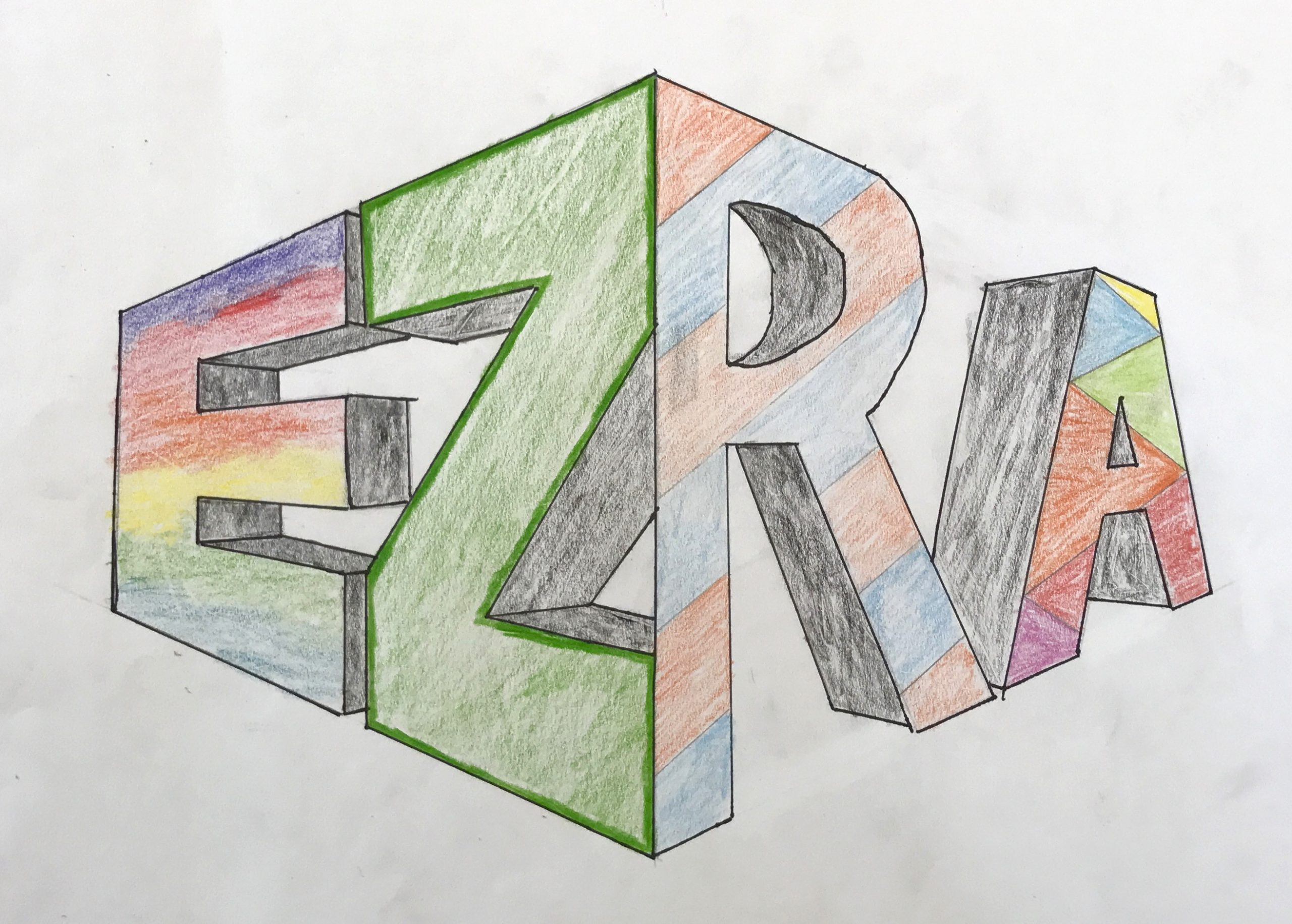 two point perspective by 6th grade 2