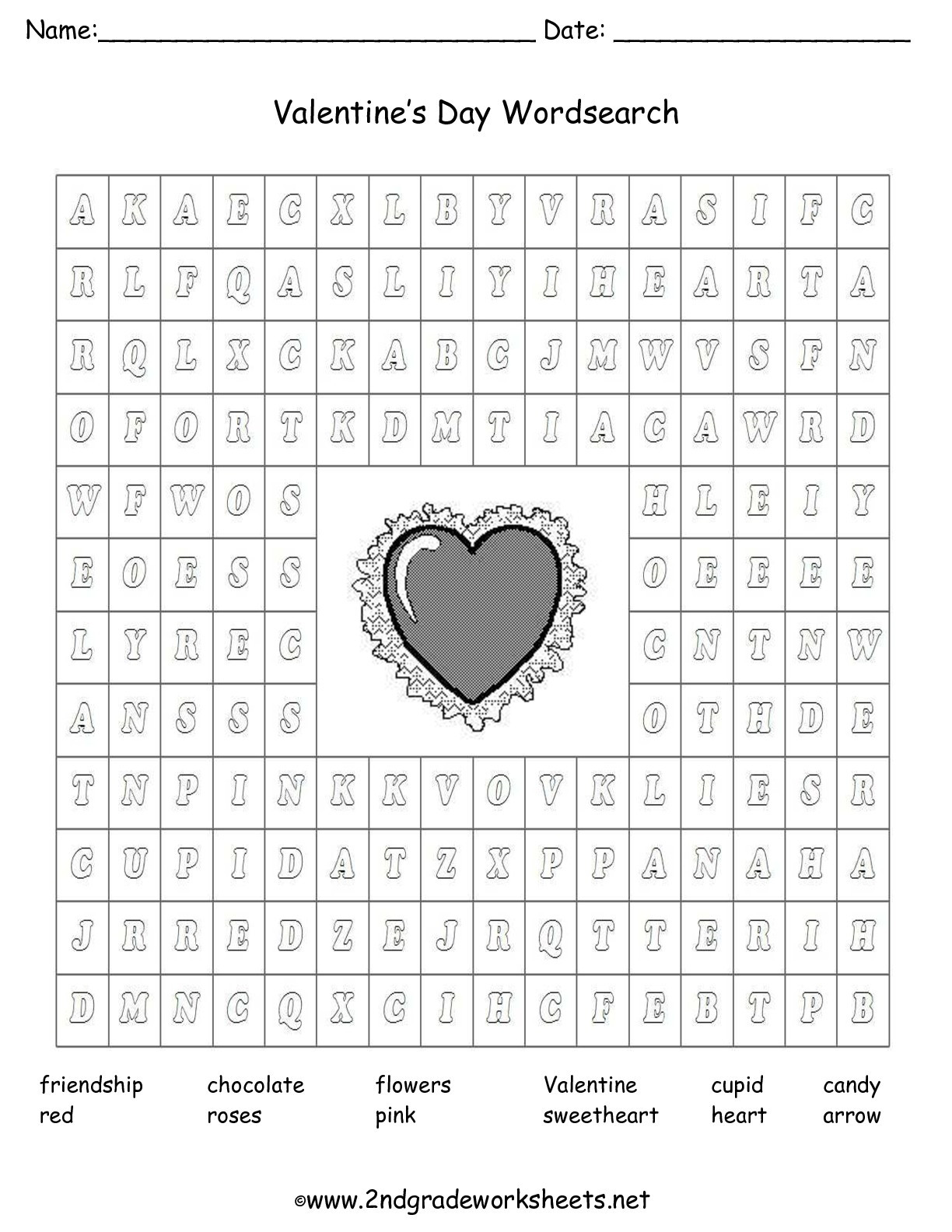 Valentine Day Multiplication Worksheets Valentine S Day Printouts and Worksheets