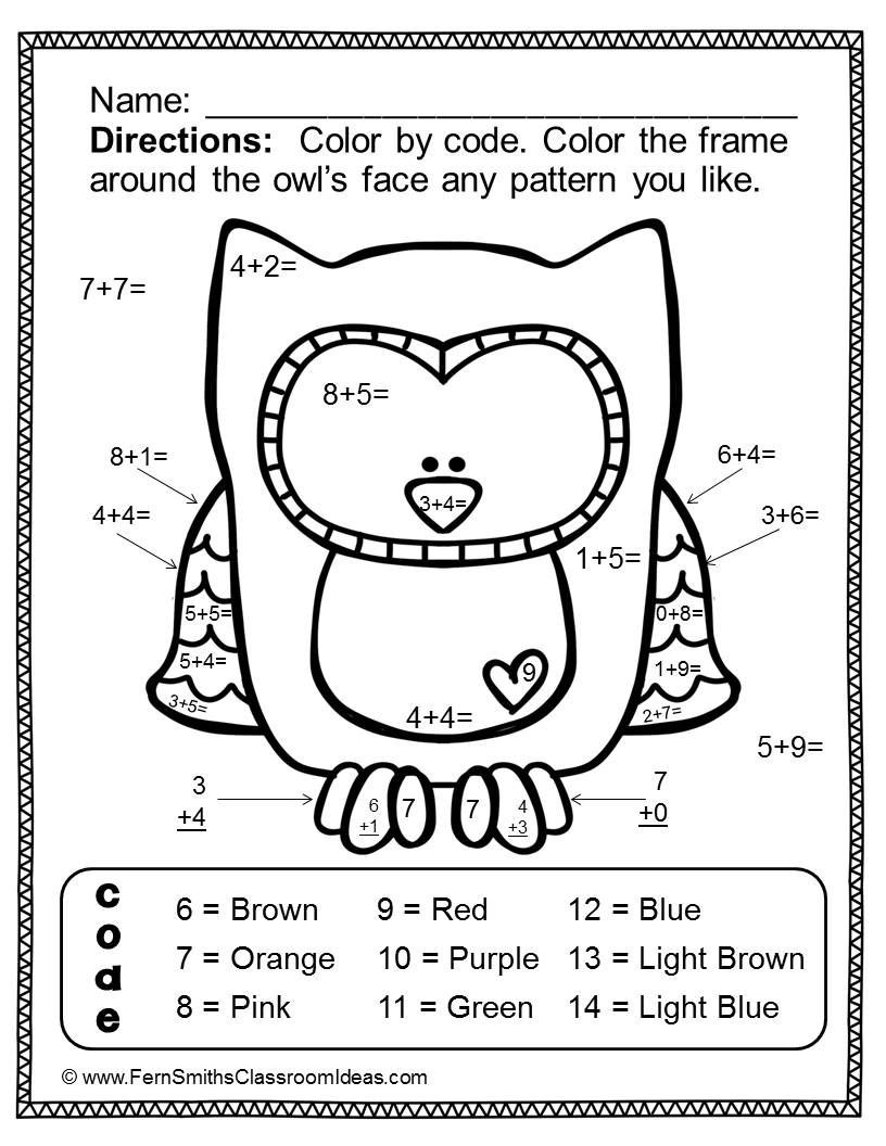 valentines day color by number addition valentine coloring math worksheet fantastic free photo inspirations paint