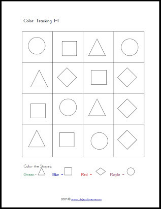 Visual Perceptual Worksheets Free Printables Free Visual Perceptual Worksheets for Adults