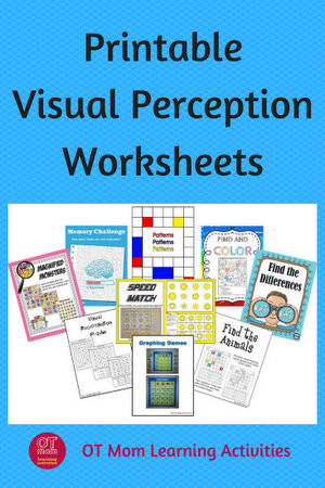 Visual Perceptual Worksheets Free Printables Printable Visual Perceptual Worksheets