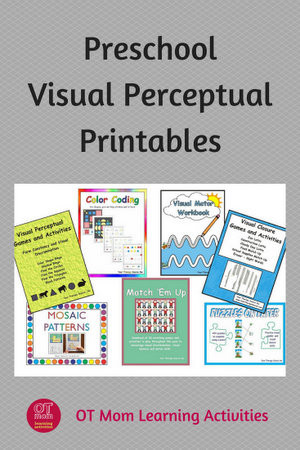 Visual Perceptual Worksheets Free Printables Visual Perception Printable Activities for Preschool