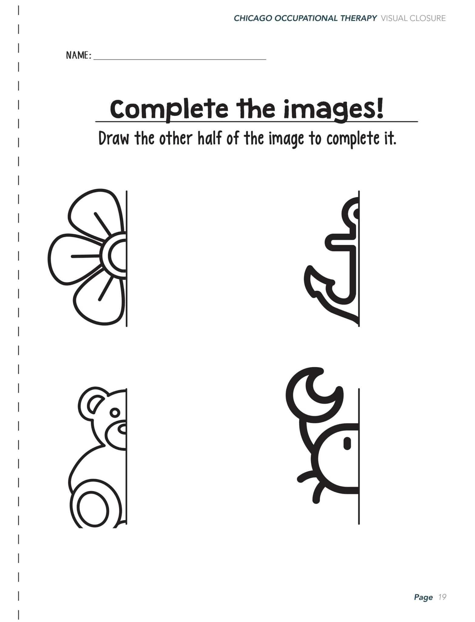 Visual Perceptual Worksheets Free Printables Visual Perceptual Worksheets Printable and Activities