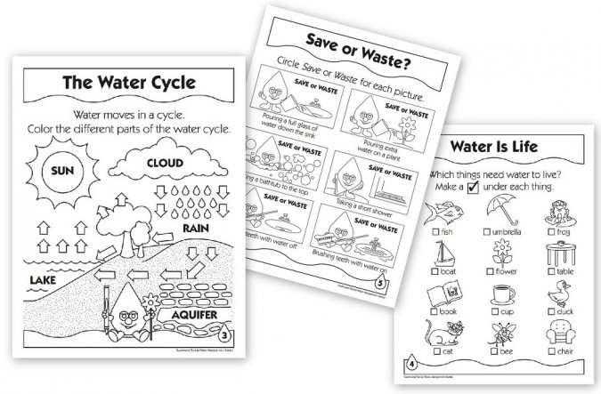 Water Cycle Printable Worksheet Free Water and Water Cycle Resources Homeschool Den