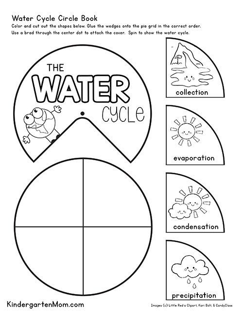 Water Cycle Printable Worksheet Free Water Cycle Printables for Kids Create This Free