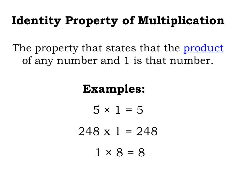 Zero Property Of Multiplication Worksheets Copy Zero Property and Identity Property