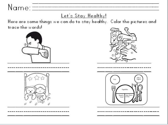1st Grade Health Worksheets Best solutions Germs for Kids Worksheets Also Template