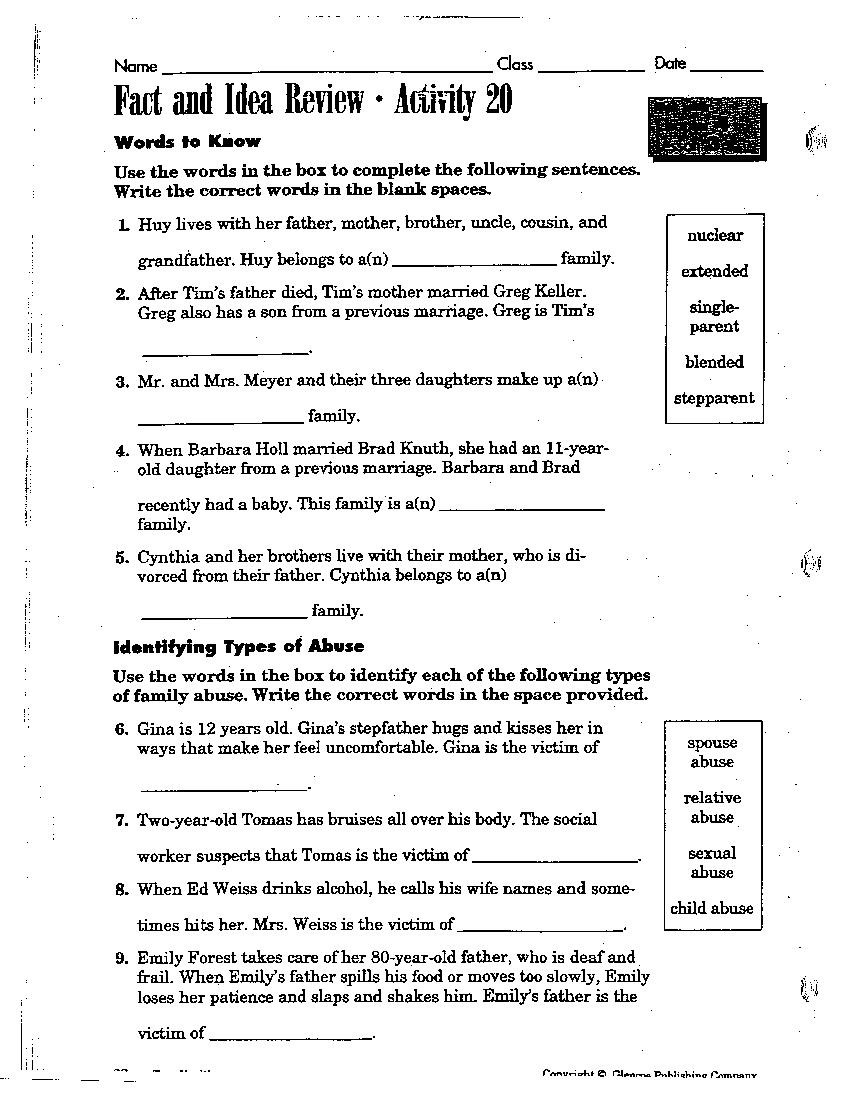 1st Grade Health Worksheets Buddy 6th Grade Health Powerpoint Presentations Middle