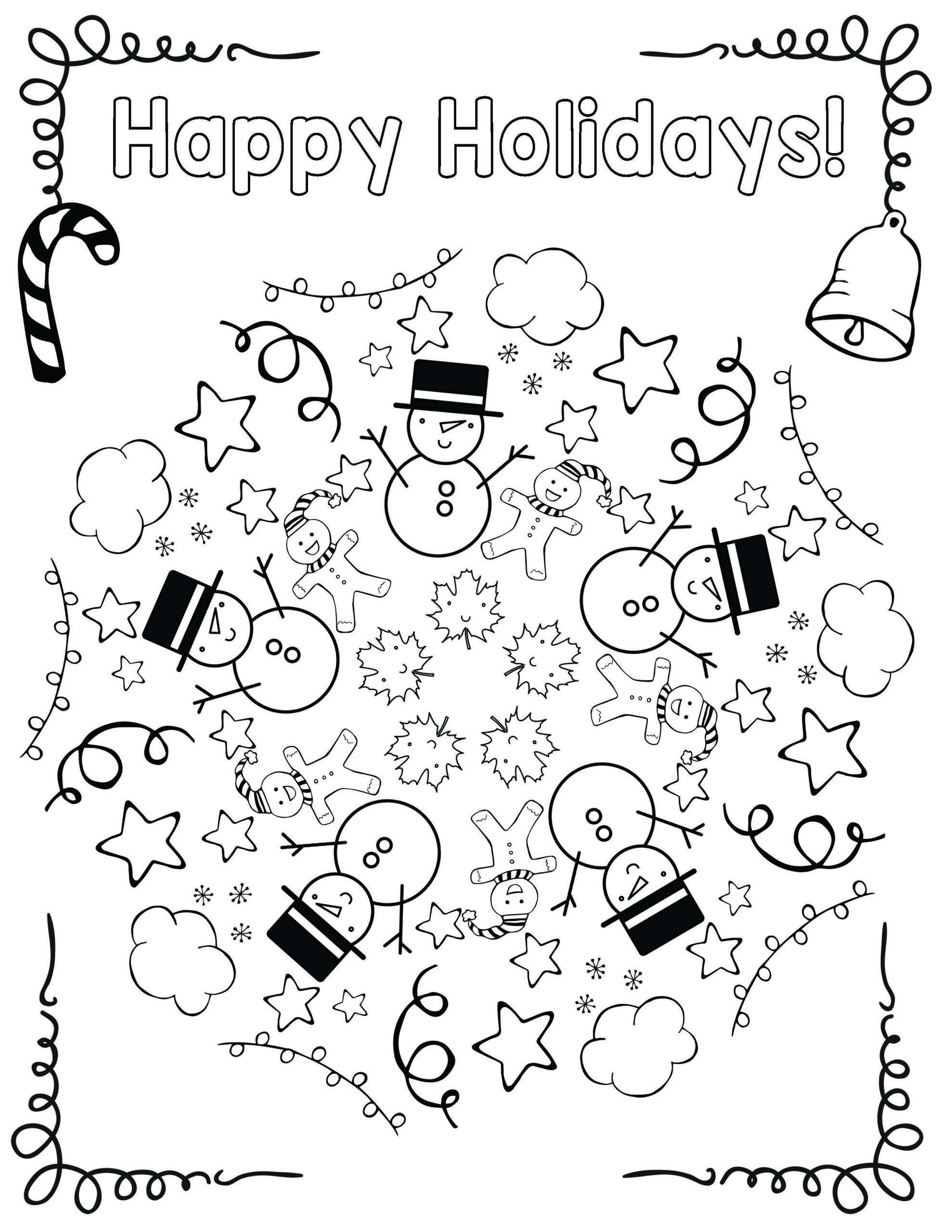 1st Grade Health Worksheets Free Holiday Coloring Mandala Art Lessons Elementary First