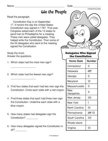 2nd Grade Government Worksheets Need A Worksheet for Constitution Day Check Out This