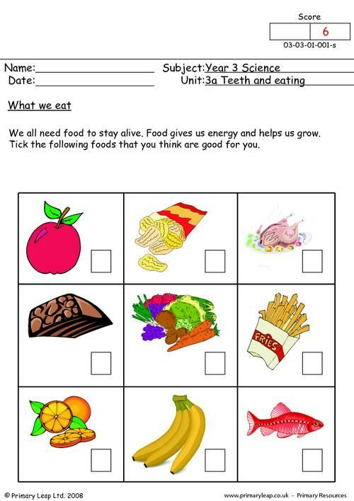2nd Grade Health Worksheets Worksheets Healthy Eating