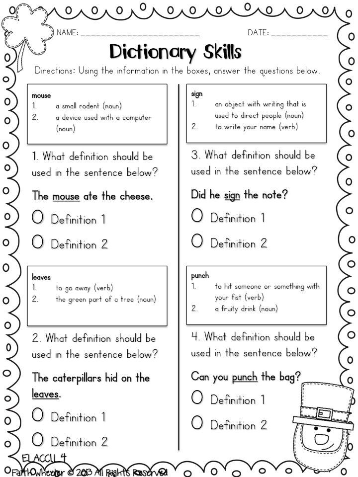 3rd Grade Library Skills Worksheets 1st Grade Fantabulous Five for Friday I Mean Saturday