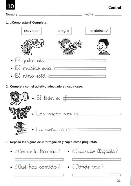 3rd Grade Spanish Worksheets Mommy Maestra Spanish Resources for First Third Grade