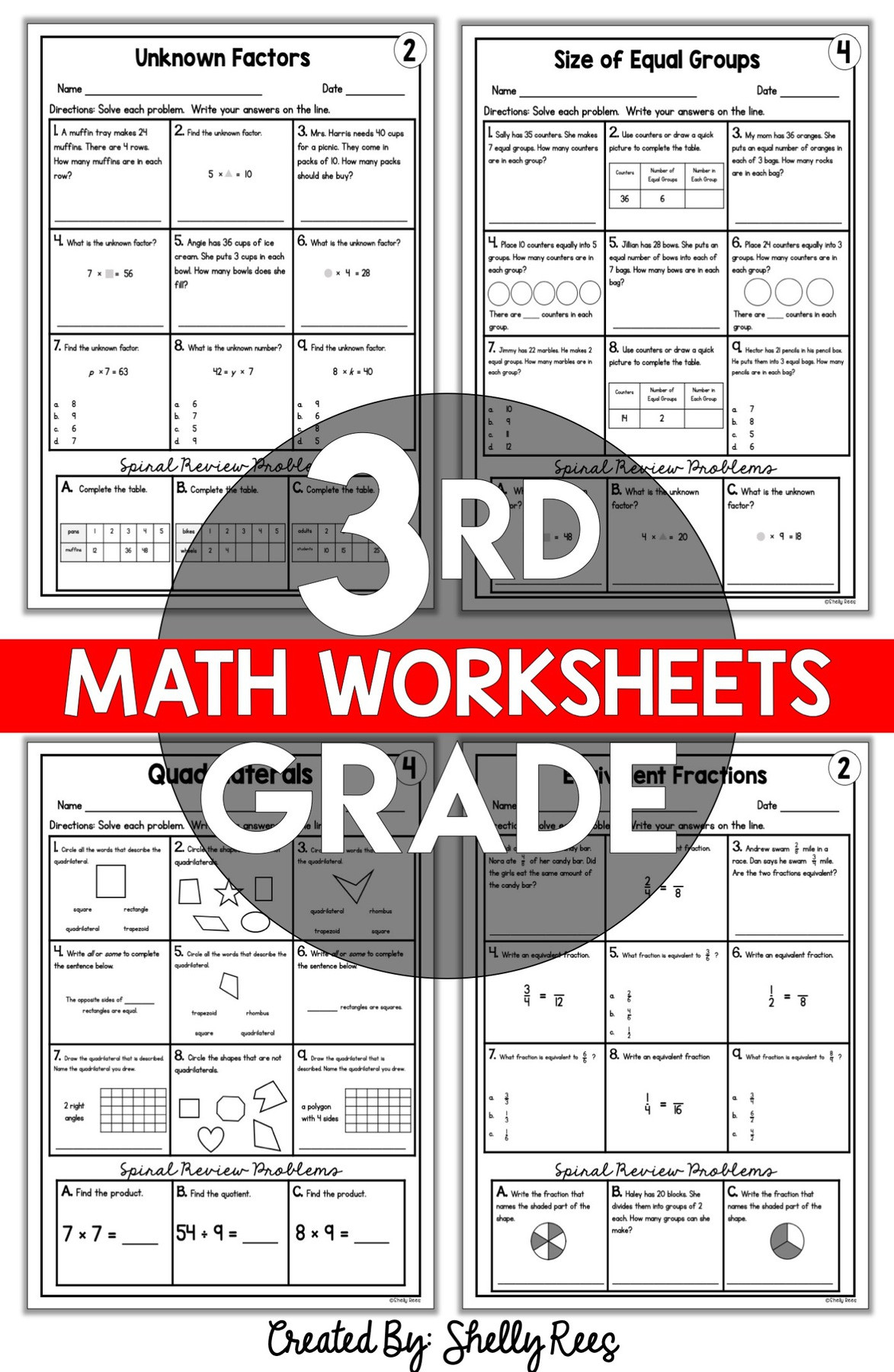 3rd Grade Test Prep Worksheets 3rd Grade Math Worksheets Free and Printable Appletastic