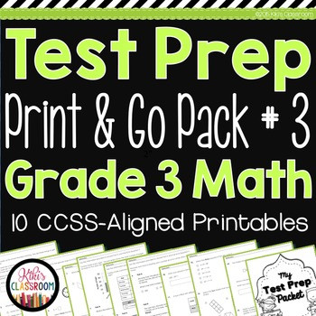 3rd Grade Test Prep Worksheets Parcc Math Test Prep 3rd Grade Printable Practice for Standardized Tests
