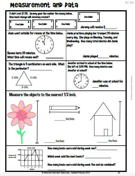 4th Grade Test Prep Worksheets May8forstudents Page 133 4th Grade Test Prep Worksheets