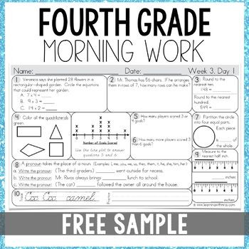 4th Grade Test Prep Worksheets Pin On 4th Grade