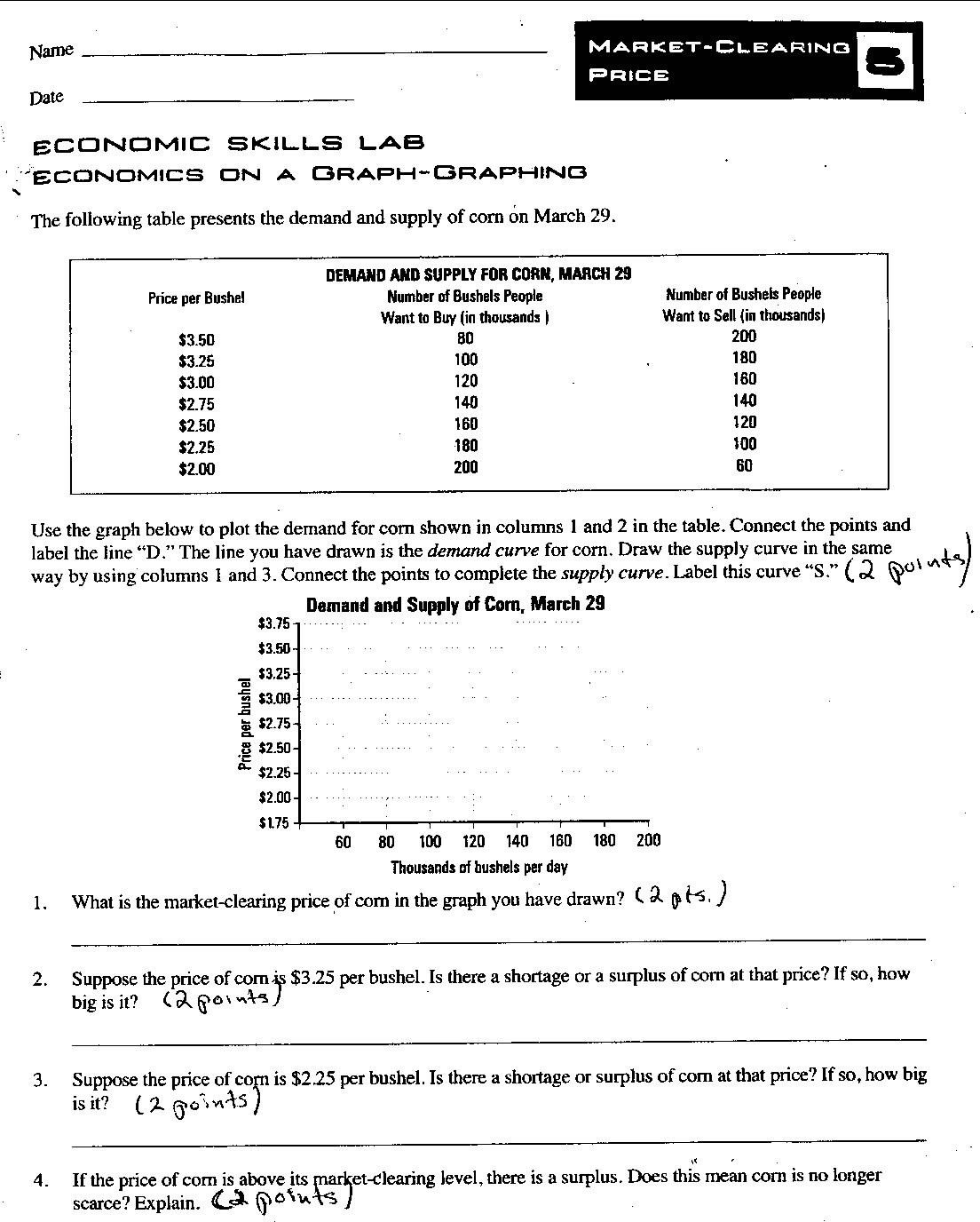 5th Grade Economics Worksheets Printable Economics Worksheet High School Worksheets for