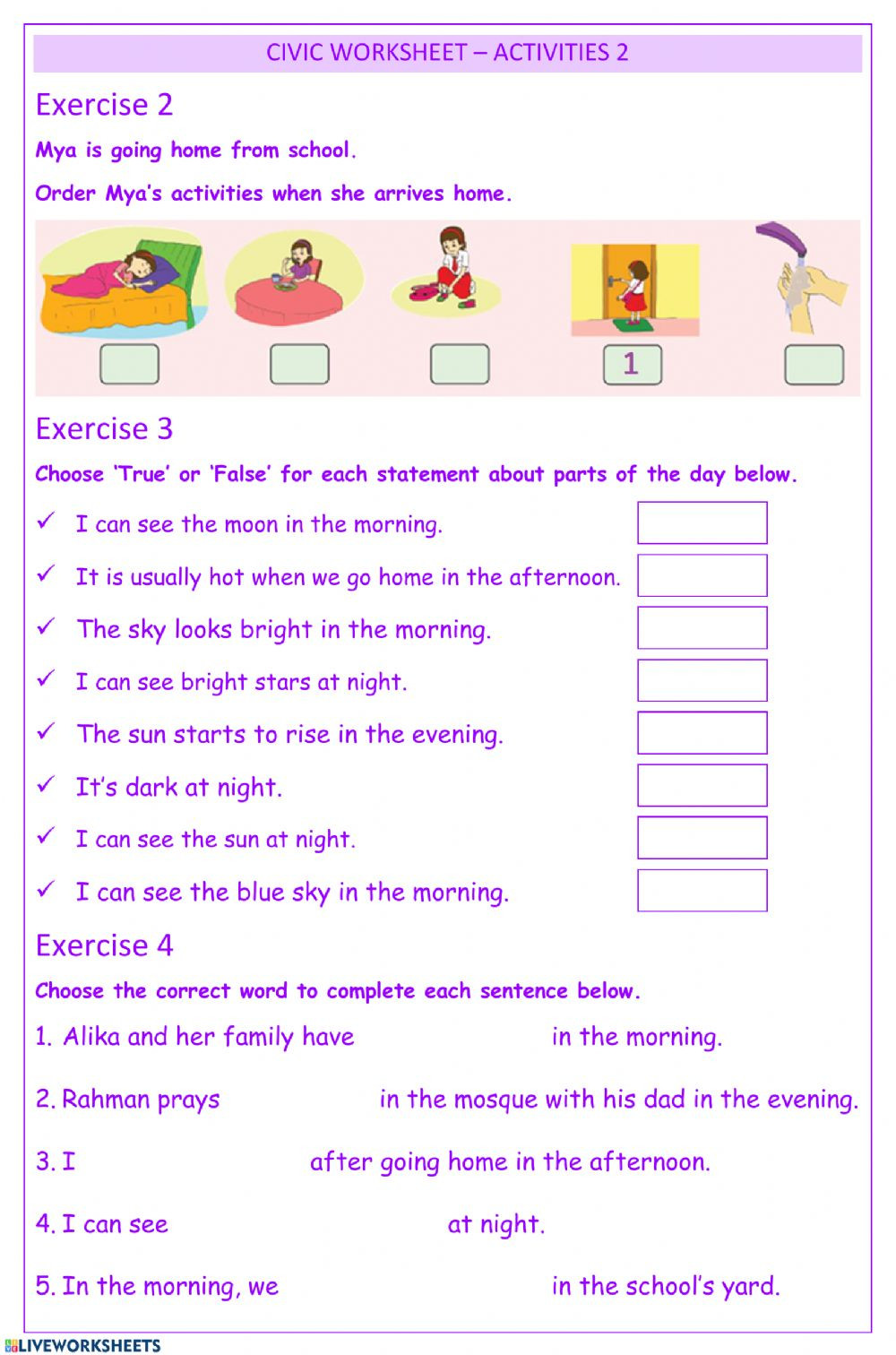 7th Grade Civics Worksheets Civics Activities2 Worksheet