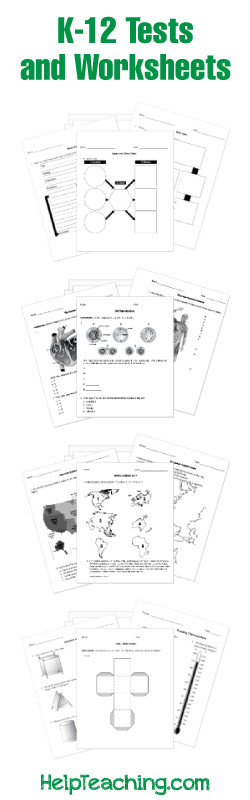 9th Grade Biology Worksheets Pdf Free Printable Worksheets for All Subjects K 12