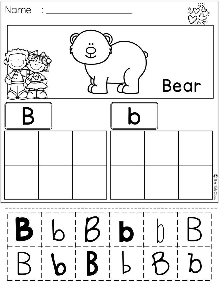 Alphabet Cut and Paste Worksheets Pin On Preschool Literacy