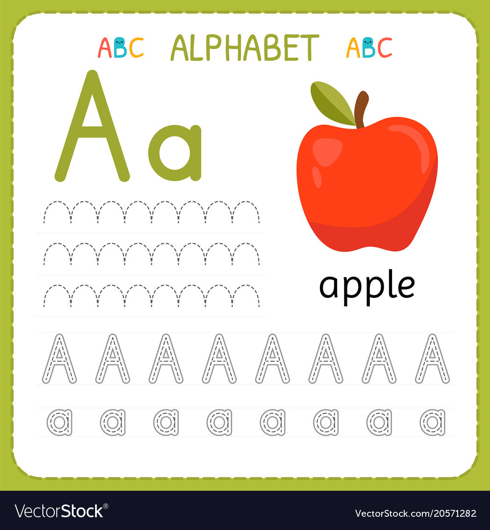Alphabet Tracing Worksheets for Preschool Alphabet Tracing Worksheet for Preschool and