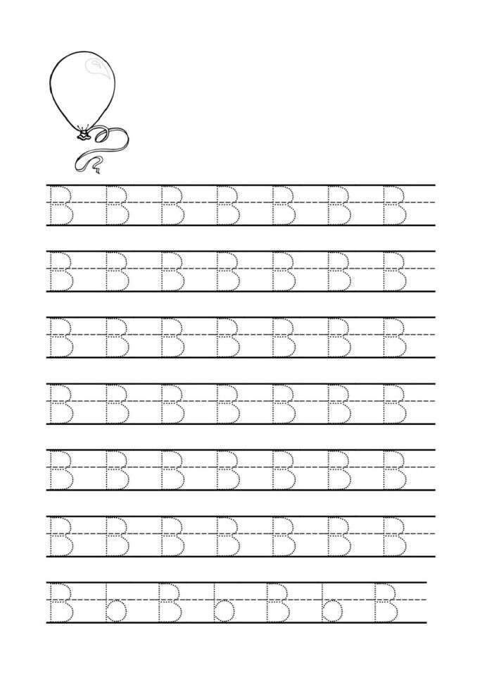 Alphabet Tracing Worksheets for Preschool Coloring Pages Letter Tracing Worksheets for Preschool