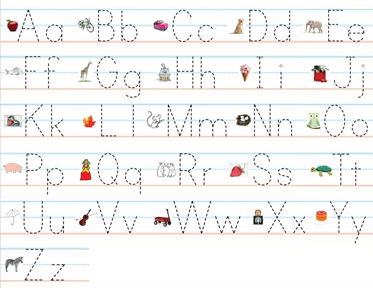 alphabet practice worksheets print writing dotted sheets for tracing alphabets kids hindi pdf lines