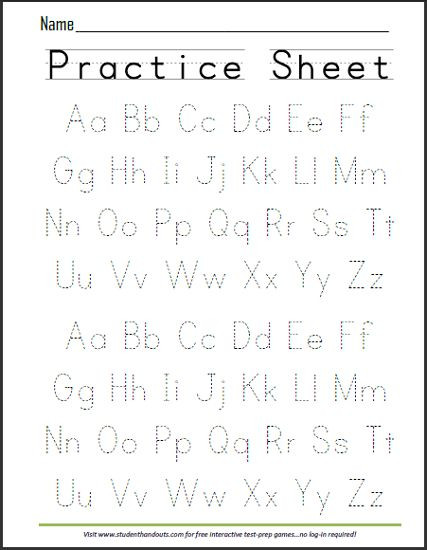 Alphabet Writing Worksheets Pdf Alphabet Writing Practice Worksheets Pdf