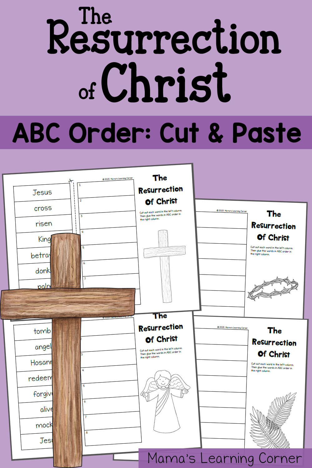 Alphabetical order Worksheets Grade 4 Abc order Worksheet the Resurrection Of Christ Mamas